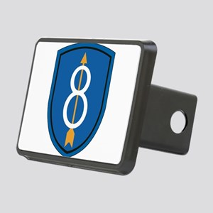 8th Infantry Division Rectangular Hitch Cover