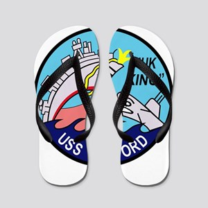 DD-446 USS Radford US NAVY Destroyer Mi Flip Flops