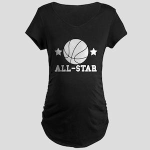 Basketball All Star Maternity T-Shirt