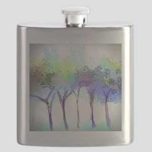 With the Trees Landscape Flask