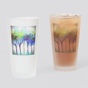 With the Trees Landscape Drinking Glass