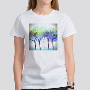 With the Trees Landscape Women's T-Shirt