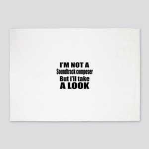 I Am Not A But I Will Soundtrack co 5'x7'Area Rug