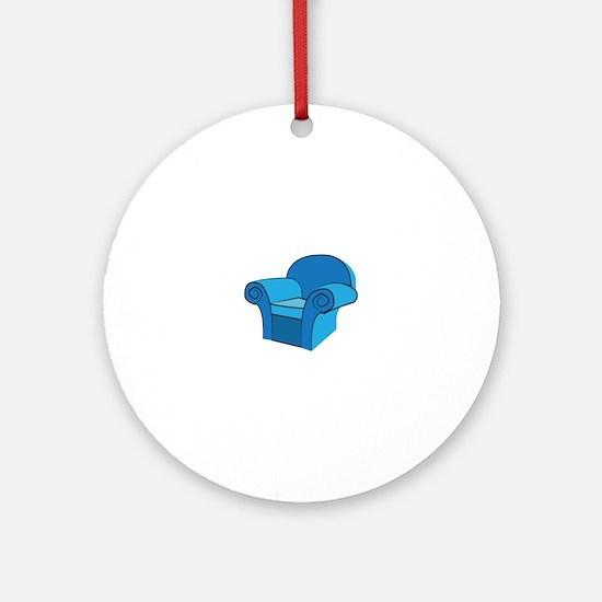 Arm Chair Ornament (Round)