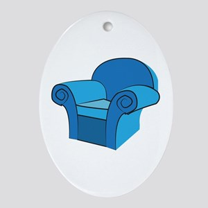 Arm Chair Ornament (Oval)