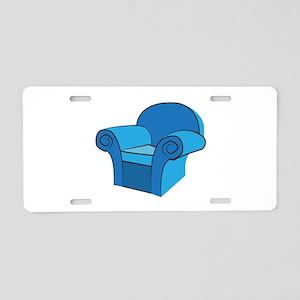 Arm Chair Aluminum License Plate