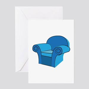 Arm Chair Greeting Cards