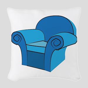 Arm Chair Woven Throw Pillow