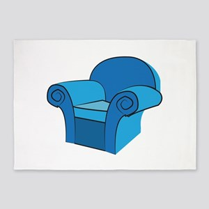 Arm Chair 5'x7'Area Rug