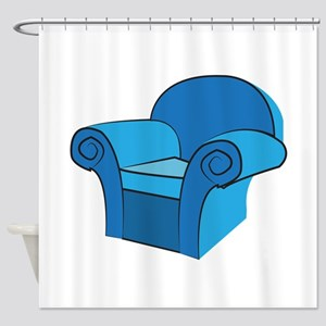 Arm Chair Shower Curtain