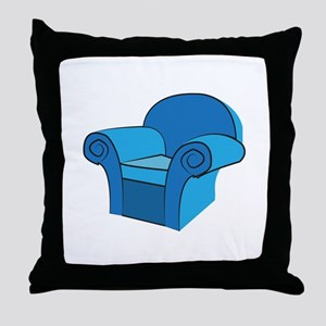 Arm Chair Throw Pillow