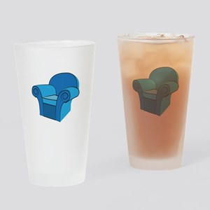 Arm Chair Drinking Glass