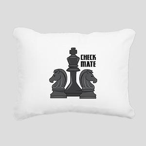 Check Mate Rectangular Canvas Pillow