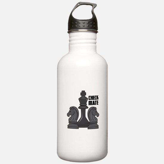 Check Mate Water Bottle