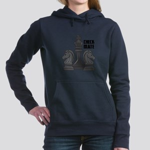 Check Mate Women's Hooded Sweatshirt