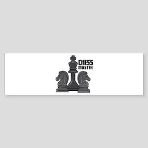 Chess Master Bumper Sticker