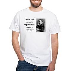 Nietzsche 2 White T-Shirt