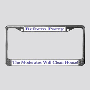 Reform Party License Plate Frame
