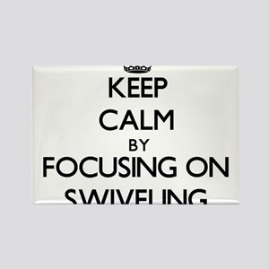 Keep Calm by focusing on Swiveling Magnets