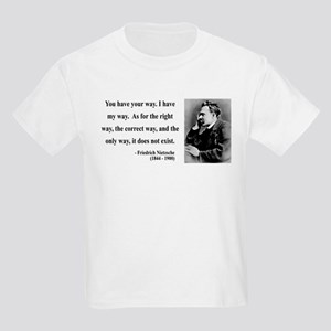 Nietzsche 1 Kids Light T-Shirt