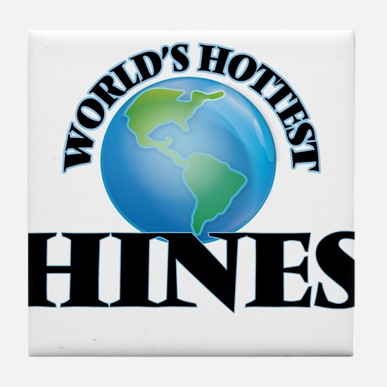 World's hottest Hines Tile Coaster