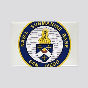 NAVAL SUBMARINE BASE San Diego CA Military Magnets