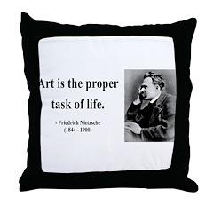 Nietzsche 24 Throw Pillow