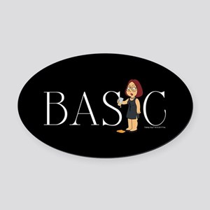 Family Guy Basic Oval Car Magnet