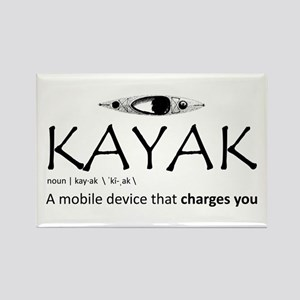 Kayak, A Mobile Device That Charges You. Magnets