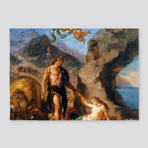 Autumn - Bacchus and Ariadne 5'x7'Area Rug
