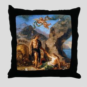 Autumn - Bacchus and Ariadne Throw Pillow