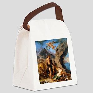 Autumn - Bacchus and Ariadne Canvas Lunch Bag