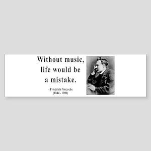 Nietzsche 22 Bumper Sticker