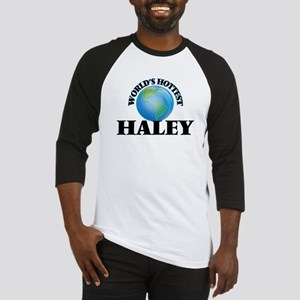 World's hottest Haley Baseball Jersey