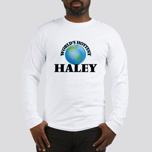 World's hottest Haley Long Sleeve T-Shirt