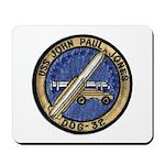 USS JOHN PAUL JONES Mousepad