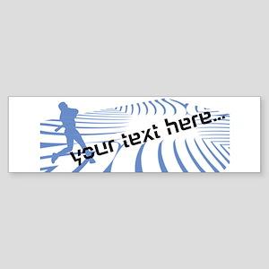 Personalisable Blue Baseball Party Logo Design Bum