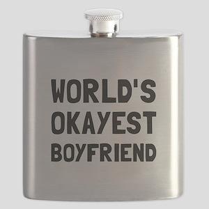 Worlds Okayest Boyfriend Flask