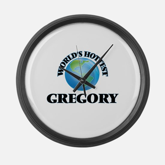 World's hottest Gregory Large Wall Clock