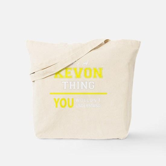 Unique Kevon Tote Bag