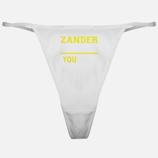 Unique Zander Classic Thong