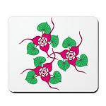 Ginger Flower Mousepad