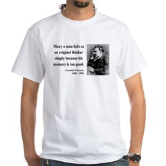 Nietzsche 20 White T-Shirt