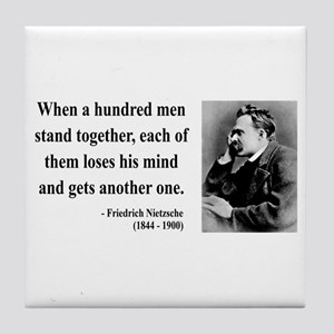 Nietzsche 19 Tile Coaster