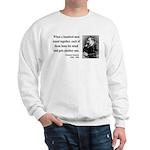 Nietzsche 19 Sweatshirt