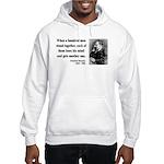 Nietzsche 19 Hooded Sweatshirt