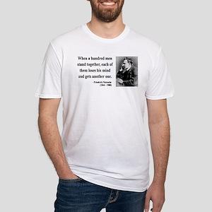Nietzsche 19 Fitted T-Shirt