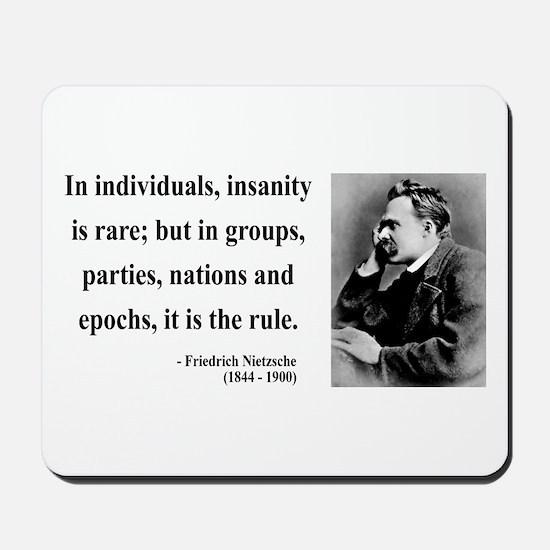 Nietzsche 18 Mousepad