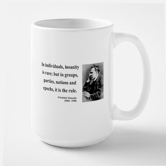 Nietzsche 18 Large Mug