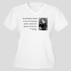 Nietzsche 18 Women's Plus Size V-Neck T-Shirt